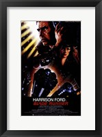 Framed Blade Runner Harrison Ford