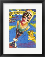 Framed Tank Girl Lori Petty