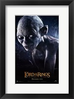 Framed Lord of the Rings: Return of the King Smeagol