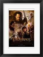 Framed Lord of the Rings: The Return of the King - style K