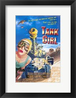 Framed Tank Girl Film