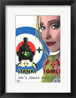 Framed Tank Girl