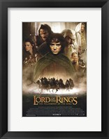 Framed Lord of the Rings: Fellowship of the Ring Vertical