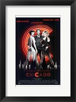 Framed Chicago Richard Gere Catherine Zeta Jones Zenee Zellweger