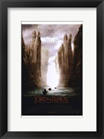 Framed Lord of the Rings: Fellowship of the Ring The Legend Comes to Life