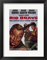 Framed Rio Bravo