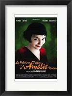 Framed Amelie - French