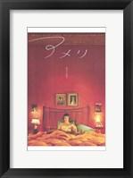 Framed Amelie - in bed