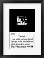 Framed Godfather Logo