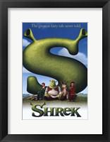 Framed Shrek - The greatest fairy tale never told.
