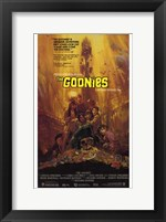 Framed Goonies - Scared