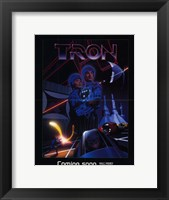 Framed Tron Outer Space