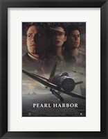Framed Pearl Harbor - Fighter Jet
