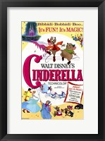 Framed Cinderella Disney Movie