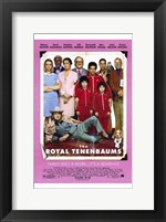 Framed Royal Tenenbaums