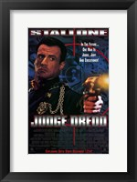 Framed Judge Dredd Stallone