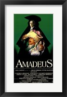 Framed Amadeus Green with Cast Tall