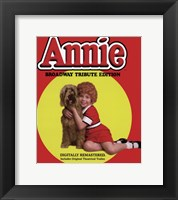 Framed Annie Broadway Tribute