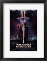 Framed Highlander 2: the Quickening