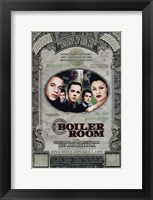 Framed Boiler Room