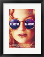 Framed Almost Famous Kate Hudson