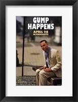 Framed Forrest Gump Gump Happens