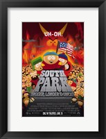 Framed South Park: Bigger  Longer and Uncut