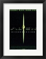 Framed Alien Resurrection