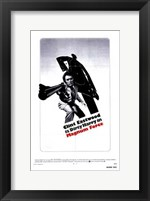 Framed Magnum Force - black and white