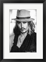 Framed Johnny Depp