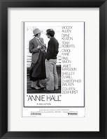 Framed Annie Hall Woody Allen Diane Keaton