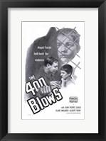 Framed 400 Blows - B&W