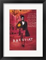 Framed Basquiat