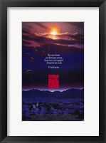 Framed Red Dawn Film