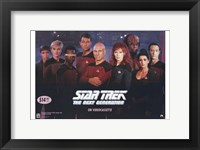 Framed Star Trek: the Next Generation