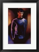 Framed Star Trek - Mr. Spock