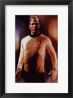 Framed Star Trek - Captain Kirk