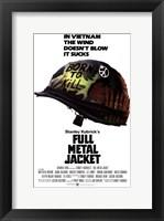 Framed Full Metal Jacket Vietnam