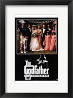 Framed Godfather 25th Anniversary