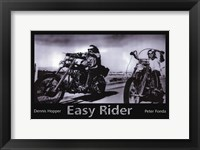 Framed Easy Rider Dennis Hopper & Peter Fonda