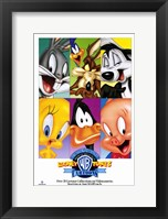 Framed Looney Toons Collection