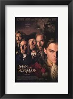 Framed Man in the Iron Mask