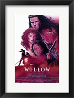 Framed Willow - characters