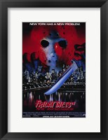 Framed Friday the 13Th Part 8 Jason Takes Manha
