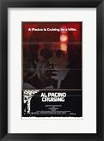 Framed Cruising Al Pacino