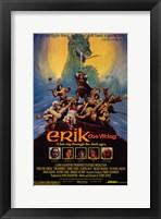 Framed Erik the Viking