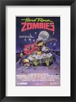 Framed Hard Rock Zombies