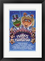 Framed Muppets Take Manhattan