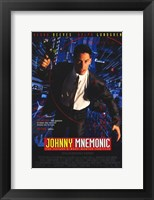 Framed Johnny Mnemonic