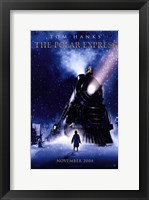 Framed Polar Express Tom Hanks